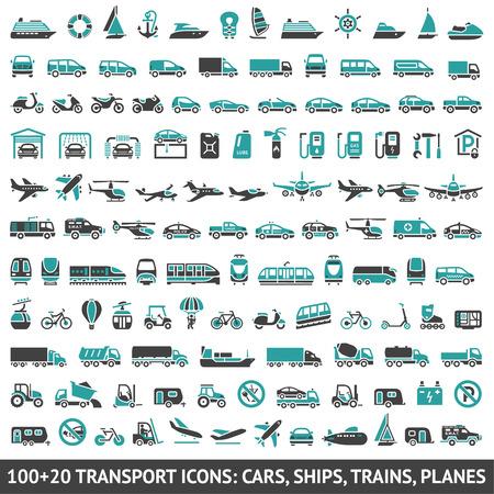 air freight: 120 Icone di trasporto, Vettoriali