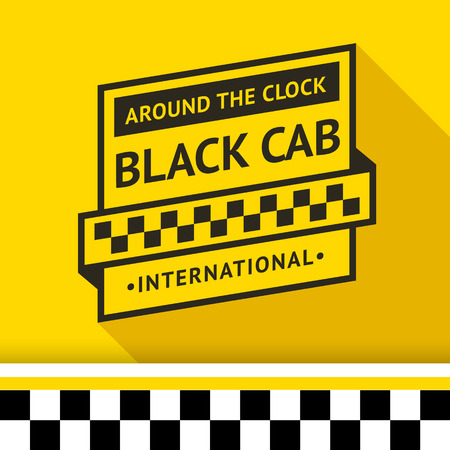 Taxi badge 03 illustration Stock Vector - 26705109
