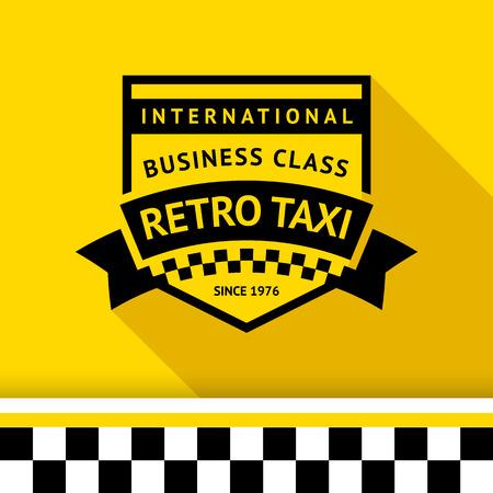 Taxi badge 04 illustration