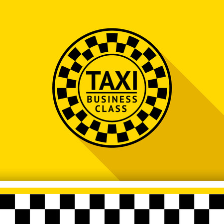 Taxi badge 06 illustration Stock Vector - 26705112
