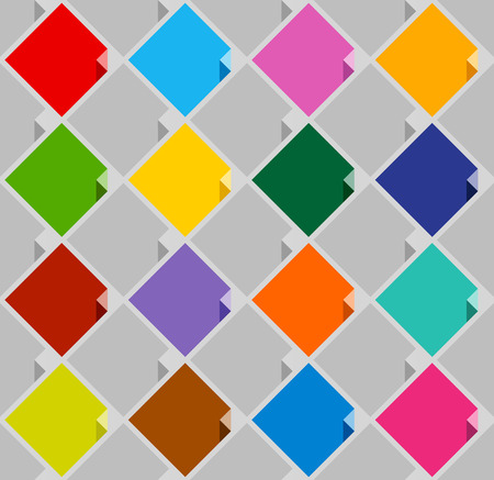 cerulean: background from blank color squares. Vector illustration Illustration