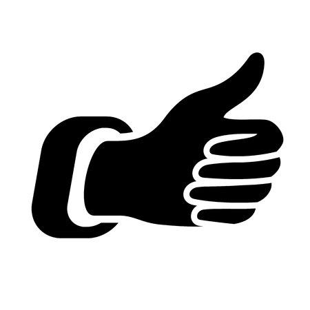 thumbs up icon Illustration