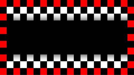 Corsa del driver del biglietto da visita, illustrazione di vettore Vettoriali