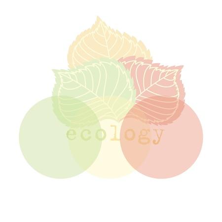 neatness: symbol of ecology Illustration
