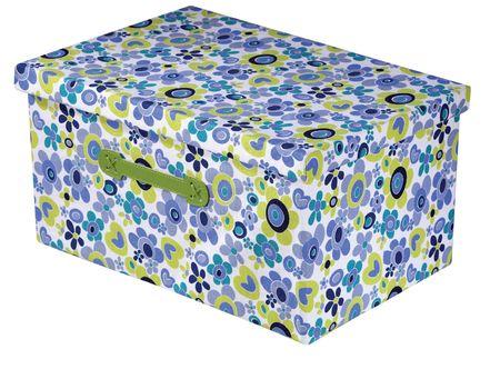 Nice box lid isolated on white background photo
