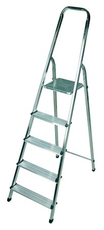 New ladder isolated on pure white background  photo