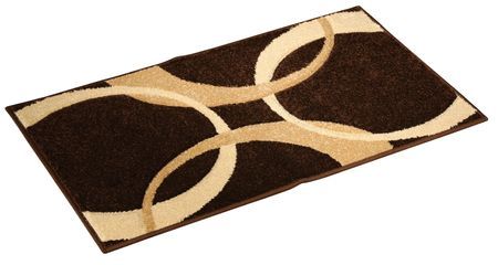 Studio shot of a doormat, isolated on a white background.