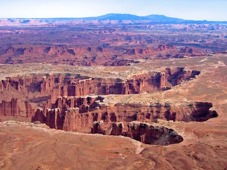 canyonlands national park in Utah photo