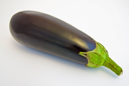 a close-up of an eggplant photo