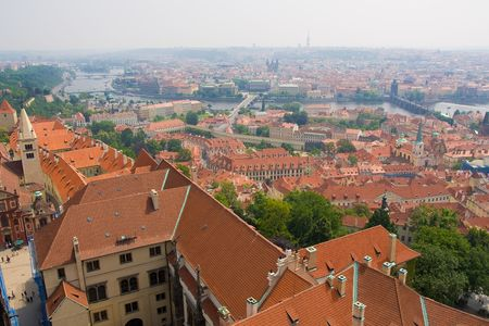 prag as a part of world cultural heritage photo