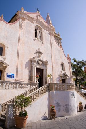 typical baroque church in sicily, italy Stock Photo - 3394475