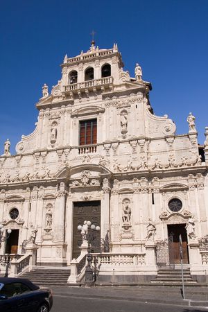 typical baroque church in sicily, italy Stock Photo - 3397499