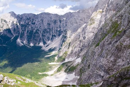 julian alps in the summer, slovenia photo