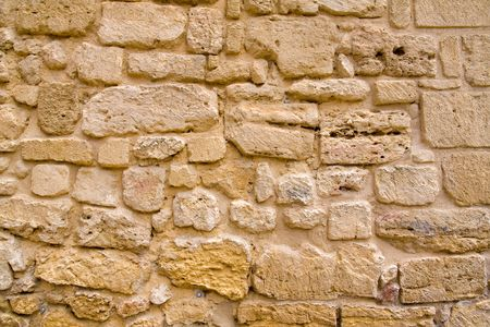 an old stone wall background photo