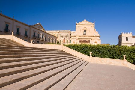 typical baroque church in sicily, italy Stock Photo - 3453278
