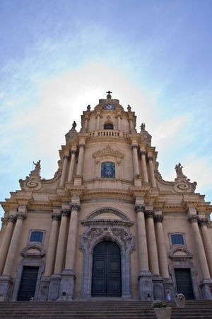 typical baroque church in sicily, italy Stock Photo - 3478638