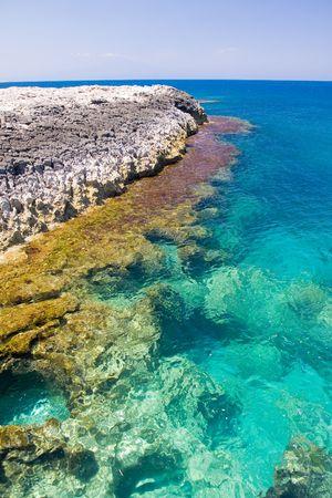 beautiful exotic beach in Mediterranean Stock Photo - 3602533