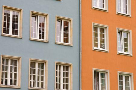 closeup of historic architecture in Gdansk, Poland Stock Photo - 3712789