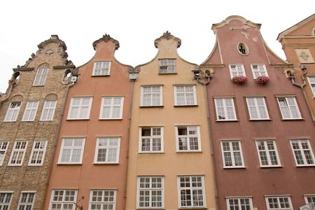 closeup of historic architecture in Gdansk, Poland Stock Photo - 3789950