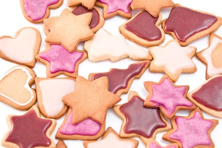 homemade decorated christmas ginger bread Stock Photo - 3924241