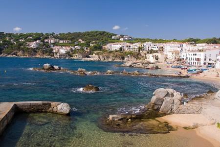 seacoast: beautiful small village on the coast of Costa Brava, Spain