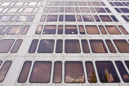 modern office building in Barcelona, Spain photo