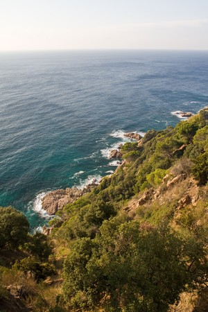 costa brava: Belle costline sauvage de la Costa Brava, Espagne.