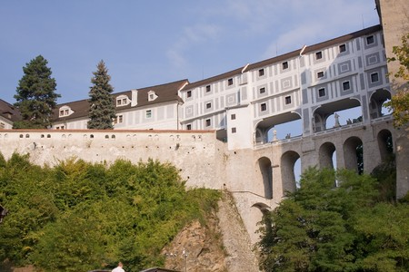 near: czech historical town Cesky Krumlov enlisted in UNESCO
