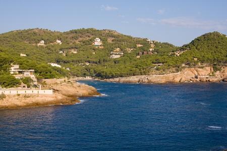 seacoast: beautiful wild costline of Costa Brava, Spain