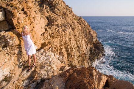 costa brava: belle costline sauvages de la Costa Brava, Espagne