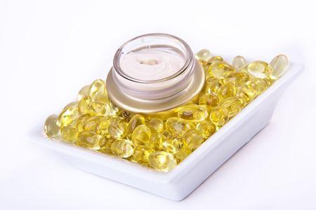 nourishing cream with omega acids photo
