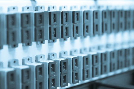 network hub without patch cables Stock Photo - 8204014