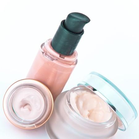 nourishing: set of nourishing creams and makeup