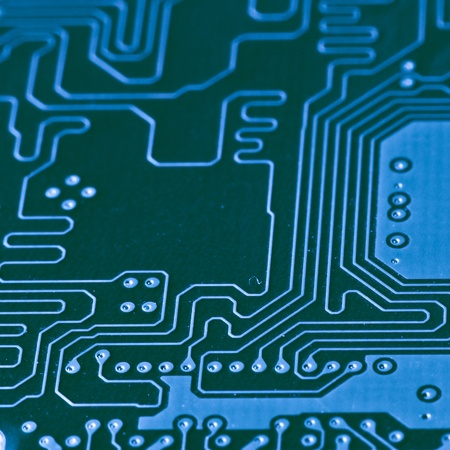 abstract circuit board as a background Stock Photo - 8552797