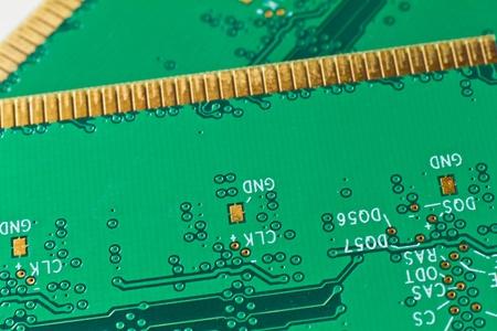 module: close up of DDR2 memory module