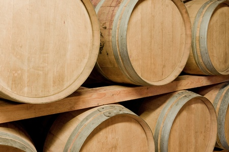 wine barrels in old wine cave Stock Photo - 8602891