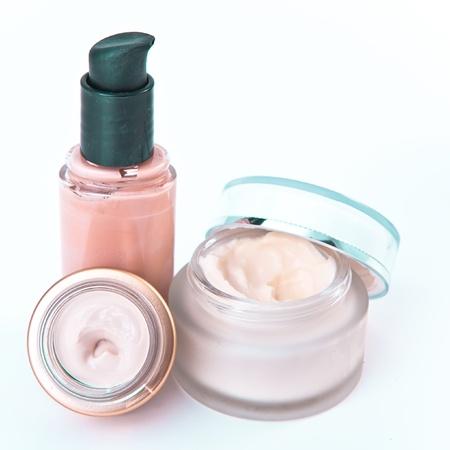 revitalizing: set of nourishing creams and makeup