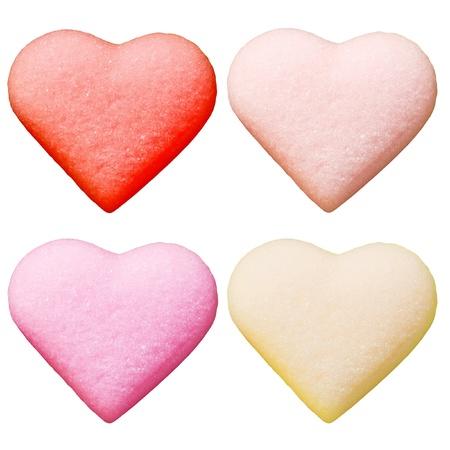saint valentines: caramelle come cuori di San Valentino Archivio Fotografico
