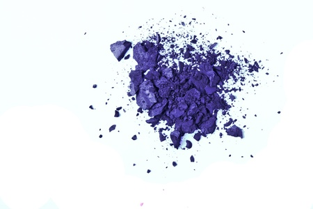 crushed eyeshadow isolated on white background Stock Photo - 9170180
