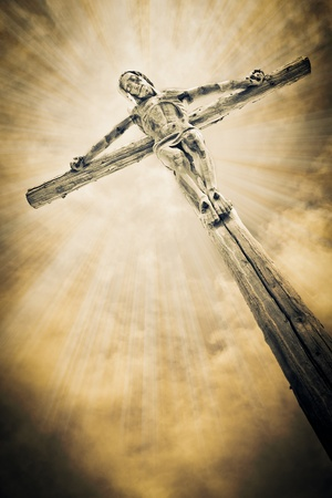 son of god: Crucifixion - Jesus on the cross