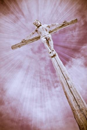 Crucifixion - Jesus on the cross photo