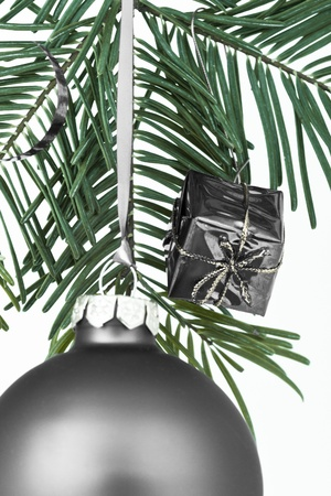 Christmas decoration on Christmas tree photo