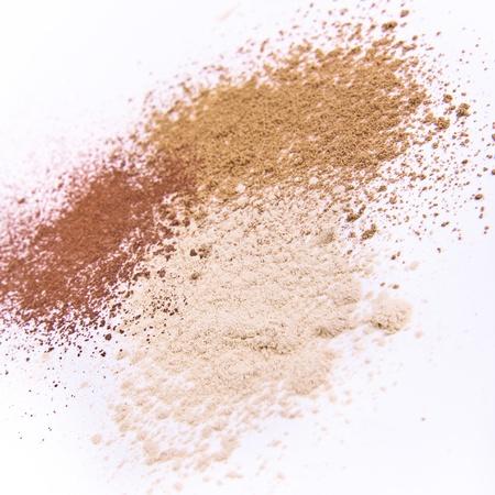 makeup powder isolated Stock Photo - 9380995