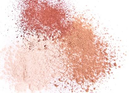 makeup powder isolated photo