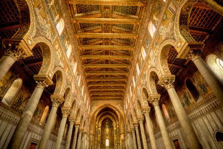 interior architecture design of church, Italy