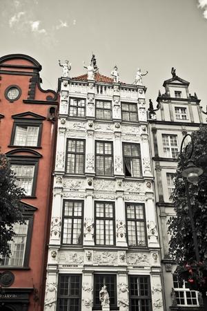 historic city of Gdansk, Poland Stock Photo - 10024831