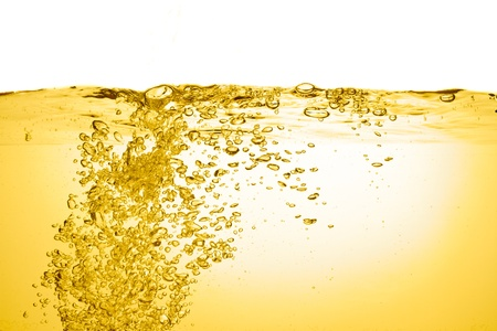 orange summer drink with bubbles Stock Photo - 13149474