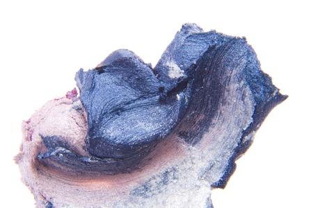 smudged lipsticks isolated on white background Stock Photo - 13275120