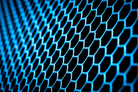 grid background: abstract metal grid background