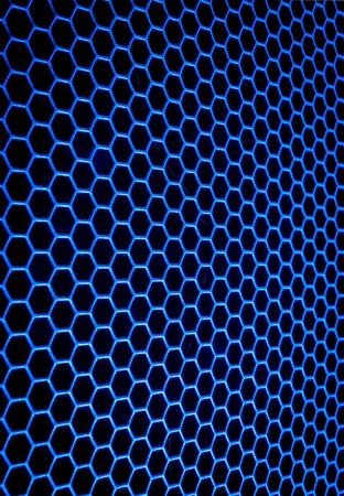 abstract metal grid background Stock Photo - 13789278